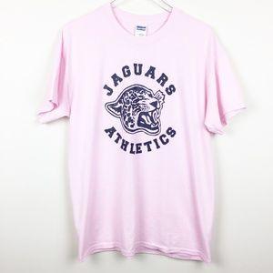 Gildan | Powder Pink Jaguars Athletics Graphic Tee
